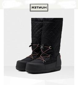 Hunter Women's Original Quilted Snow Boots: Black