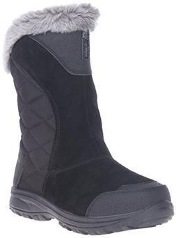 Columbia Women's Ice Maiden Ii Slip Boot - Black / Shale