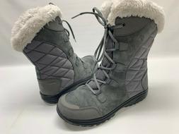 Columbia Ice Maiden II Women's Size 8 Waterproof Grey Snow W