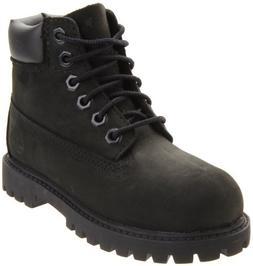 Timberland 6-Inch Premium Waterproof Boot ,Black Nubuck,4 M