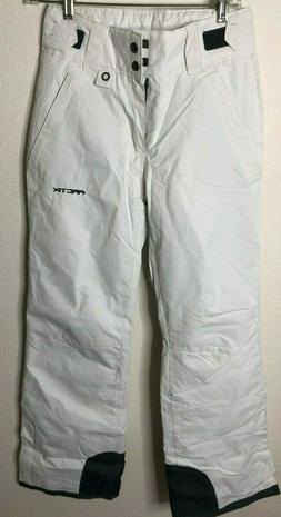 Arctix Women's Insulated Snow Pant, White, X-Small/Regular
