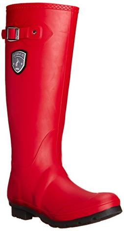 Kamik Women's Jennifer Rain Boot, Dark Red, 7 M US