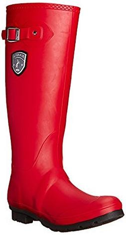jennifer snow boots dark red