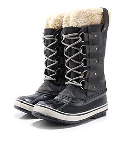 SOREL Women's Joan of Arctic Boot, Dark Grey Black, 9 M US
