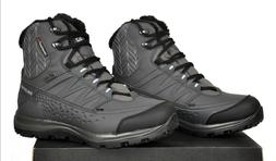 Salomon Kaina Mid CS Waterproof 2 Snow Boots Gray Womens Siz