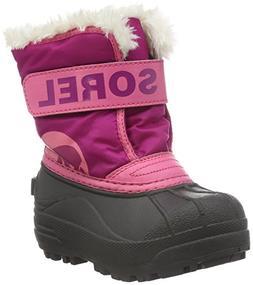 Sorel Kids' Childrens Commander-K Snow Boot, Tropic Pink, 11