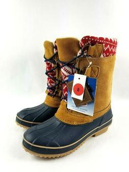 Khombu Kristie Shoes Women Size 6 Winter Snow Boots Thermo L