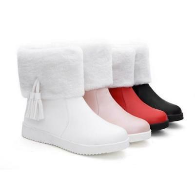 2019 warm womens winter snow ankle boots