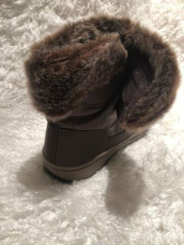 $99.99 Easy Snow Booties warm Brown