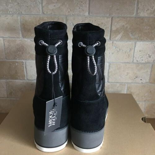 UGG Beck Nylon Snow Short Boots Size 6.5