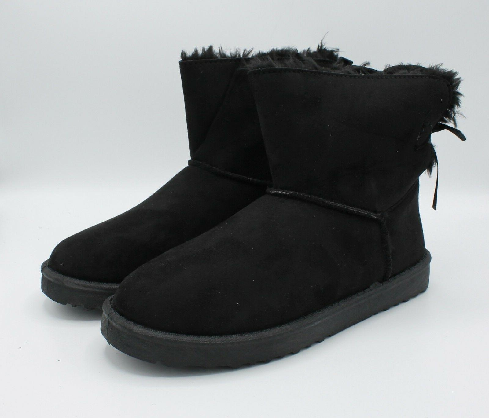 Boots with Fur Hair