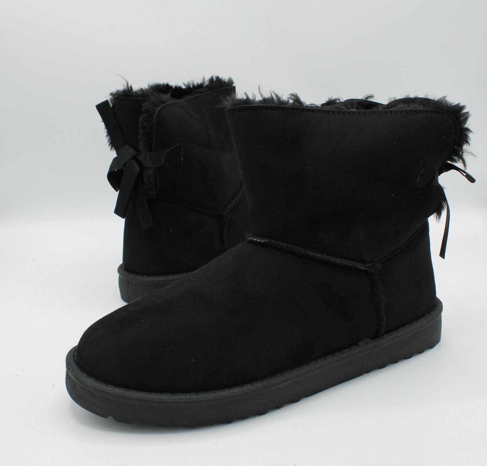 Boots Winter Fur Warm Hair