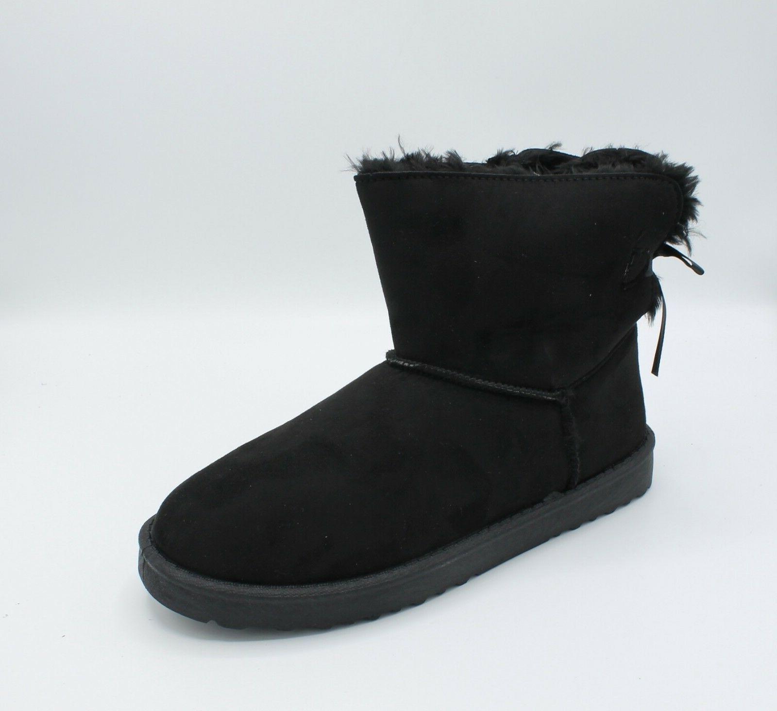 Boots Winter Fur Hair