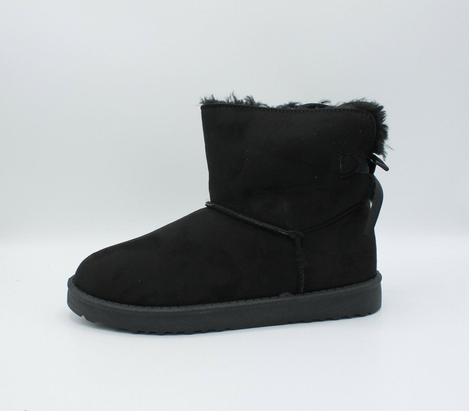 Boots Fur Warm Hair Ankle boots