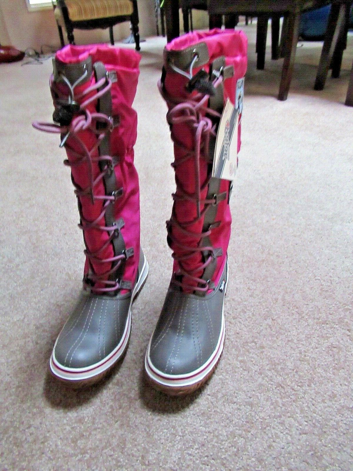 ~~PAJAR CANADA Pink Debby Boots 10 high