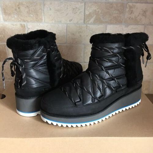 UGG Cayden Mini Boots Black Waterproof