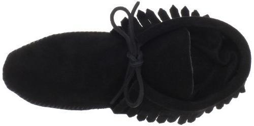 Minnetonka Women's Classic Fringe Boot,Softsole