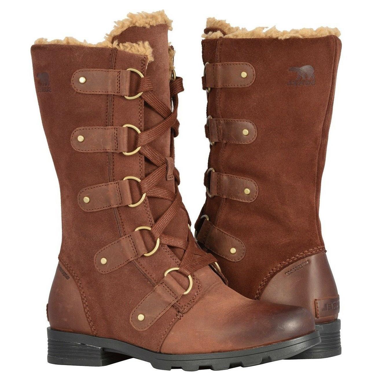 emelie lace up boots women s waterproof