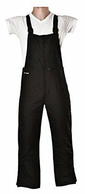 Arctix Men's Essential Bib Overall, Black, Large/Tall