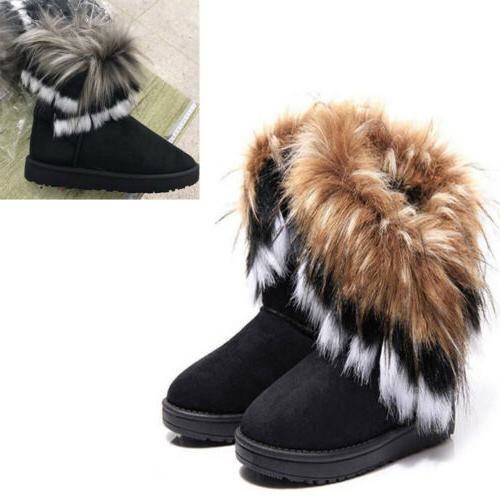 Fashion Boot Warm Ankle Snow Outdoor