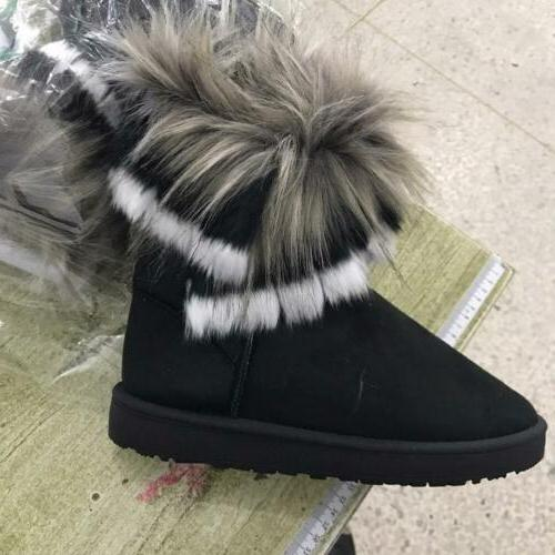 Fashion Boot Snow Suede Outdoor