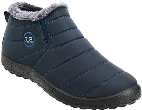 winter waterproof ankle snow boots
