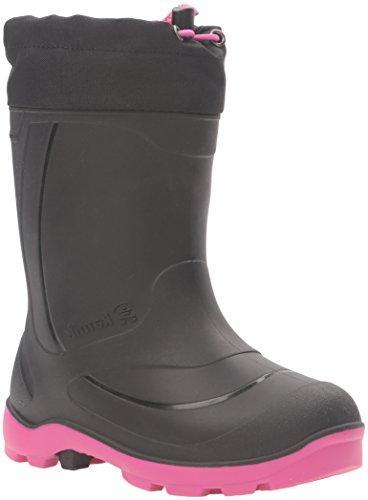 girls snobuster1 snow boot black magenta 13