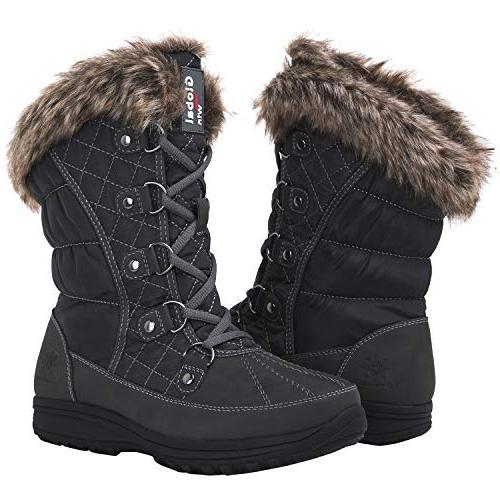 globalwin 1816 snow boots 1817grey