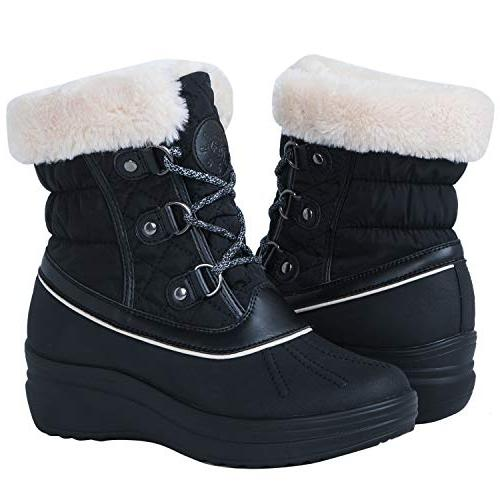 globalwin 1823 black wedge snow