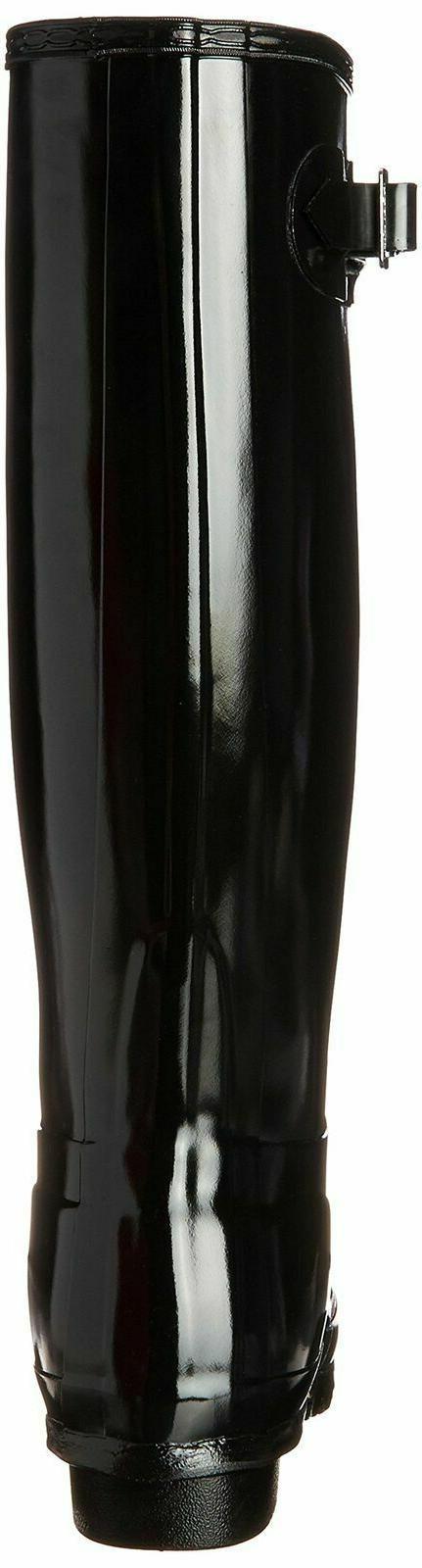 Women's Original Gloss Boot, 8 M - Black