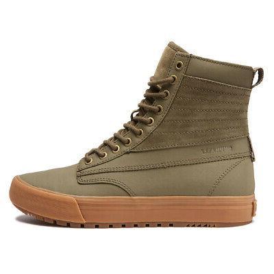 graham cw shoes olive light gum men