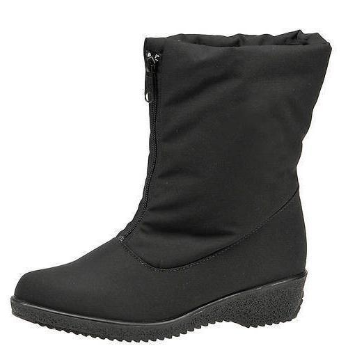 jennifer black waterproof warm winter snow boots