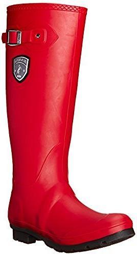 jennifer snow boots dark red