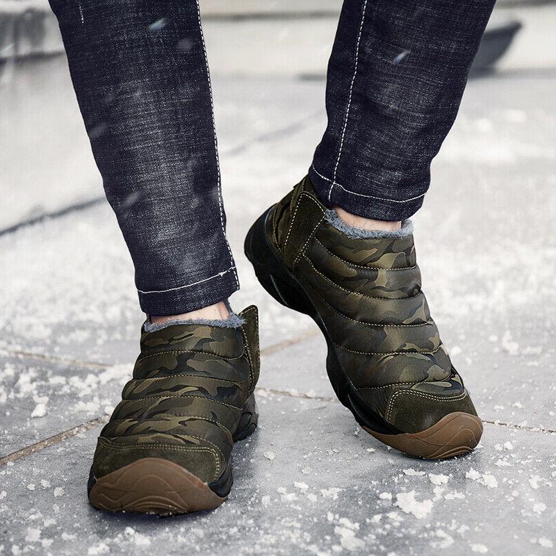 Men Women Snow Boots Warm Shoes Outdoor Waterproof