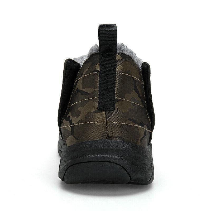 Men Women Boots Ankle Fur Warm Waterproof