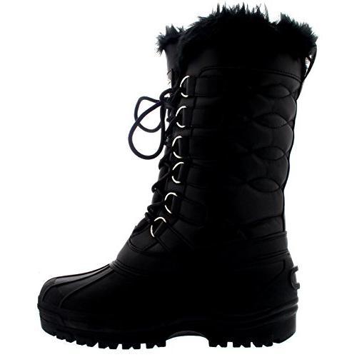 Polar Thermal Rain Fur Quilted Boot - US9/EU40 - YC0332