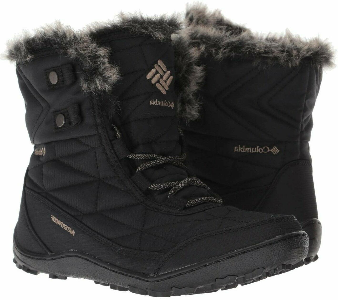 Columbia Minx Shorty III Women's Boots Winter Snow Hiking Wa