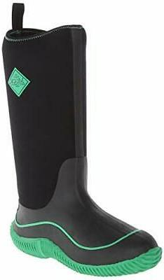 MuckBoots Women's Hale Snow Boot,Black/Jade,8 M US
