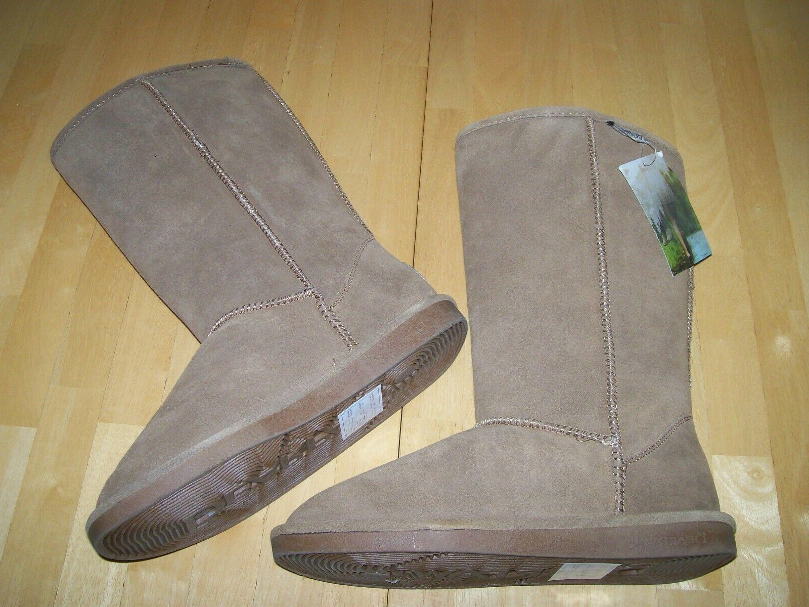 New Tall Suede Snow Hickory Womens size 10