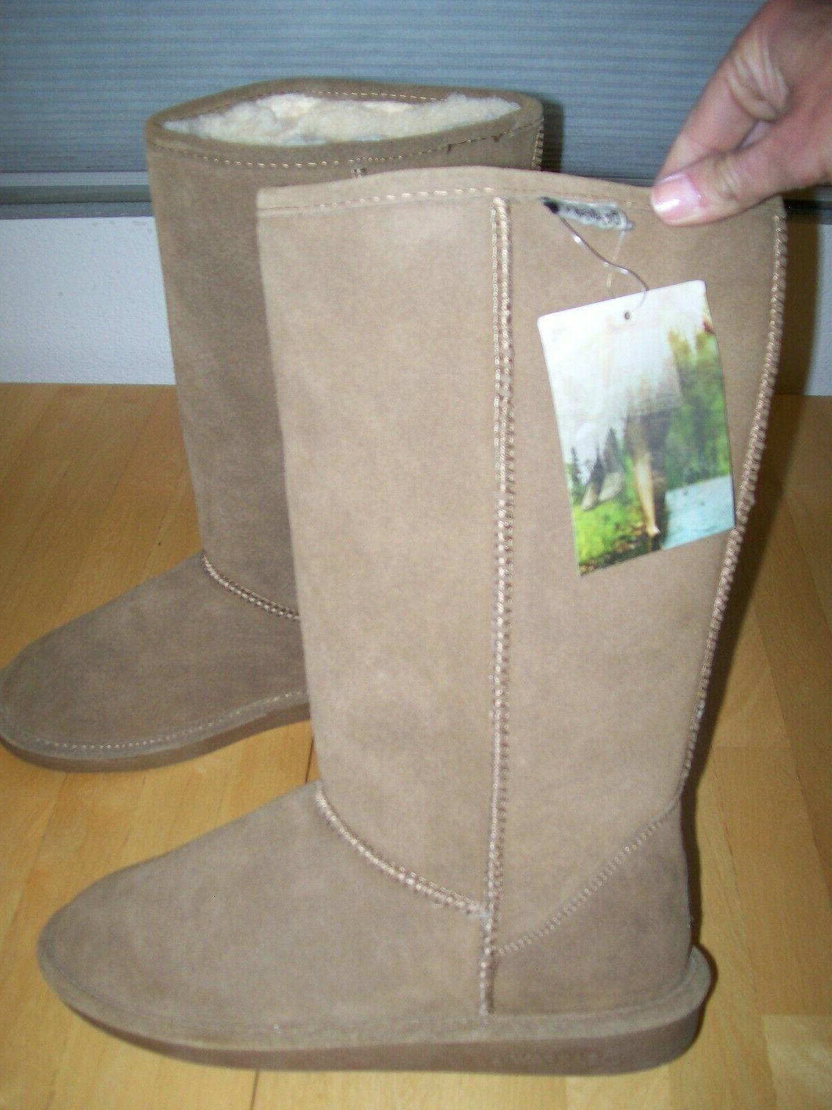 Tall Snow Boots Hickory 10