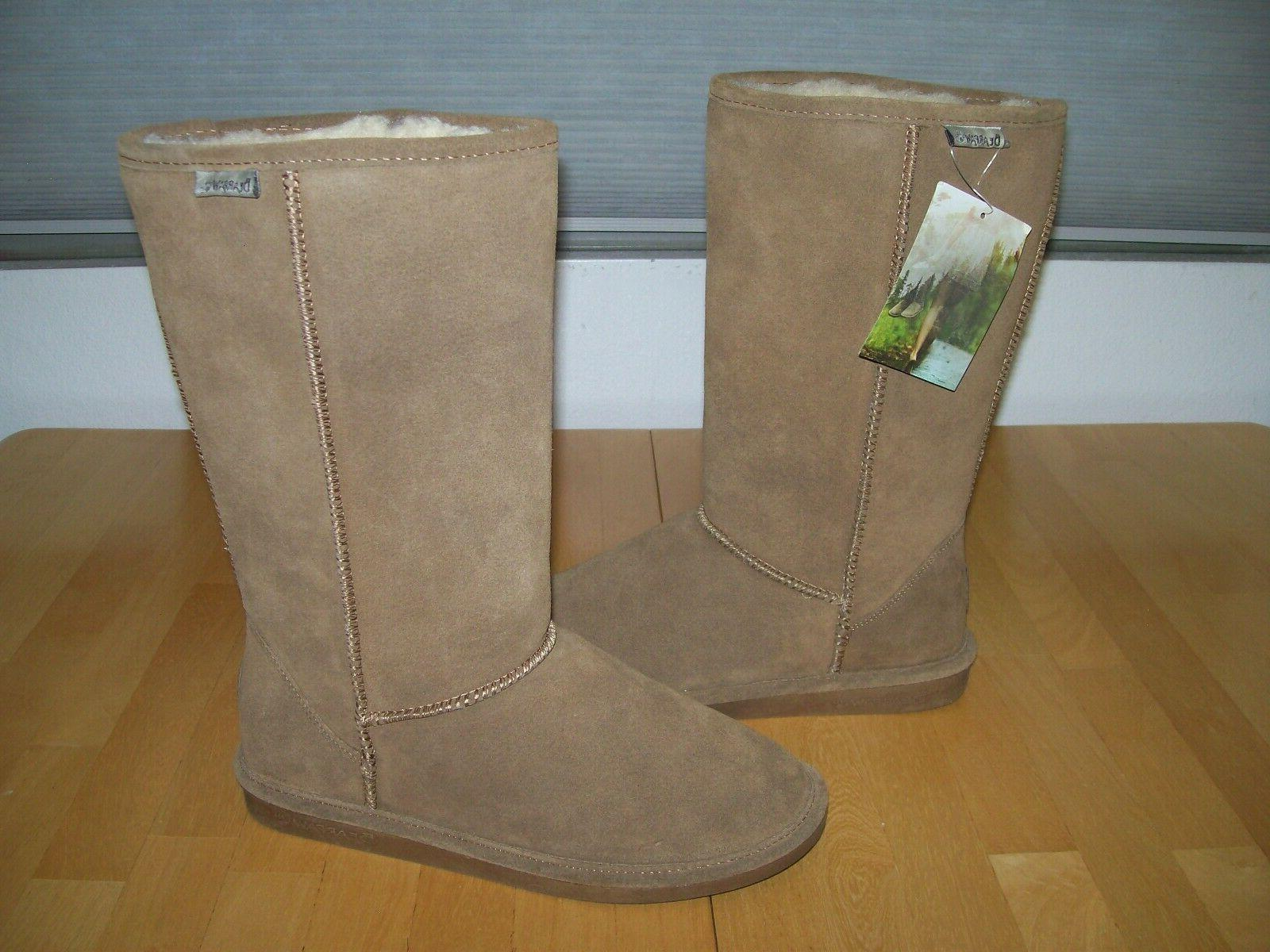 New Tall Suede Snow Boots Hickory Womens 10
