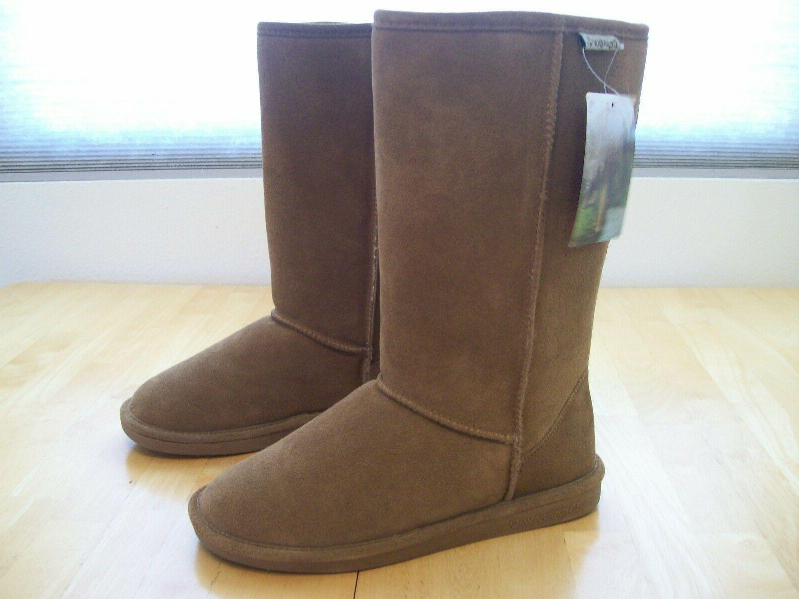 New Bearpaw Suede Snow Hickory Brown