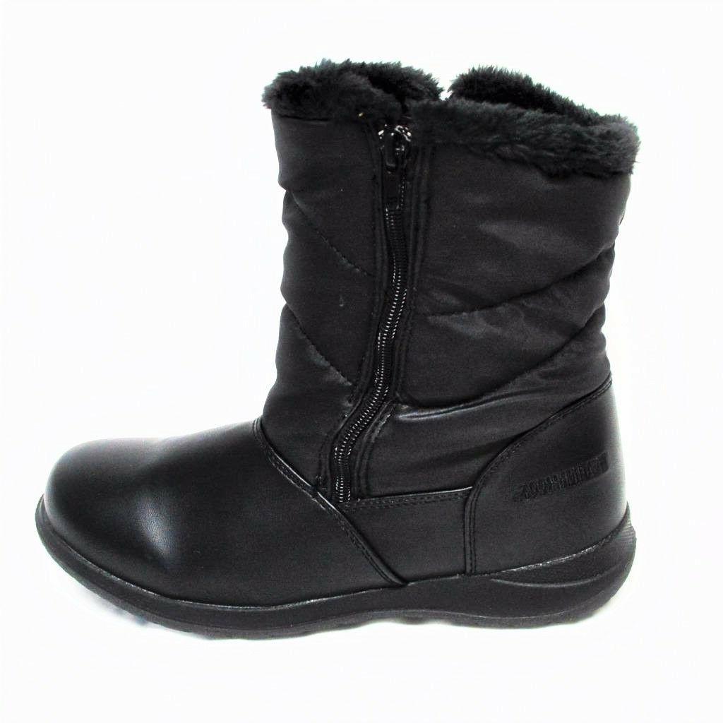 NEW Womens Fur Full Black