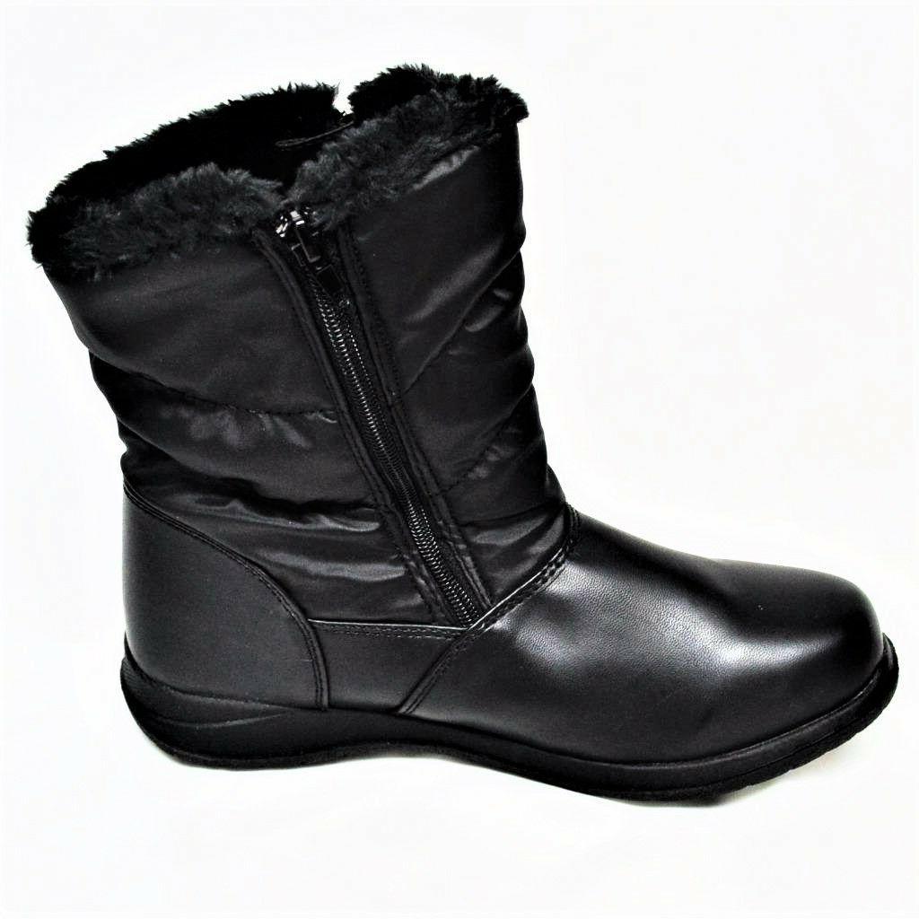NEW Jennifer 10M Womens Boot Fur Full Black