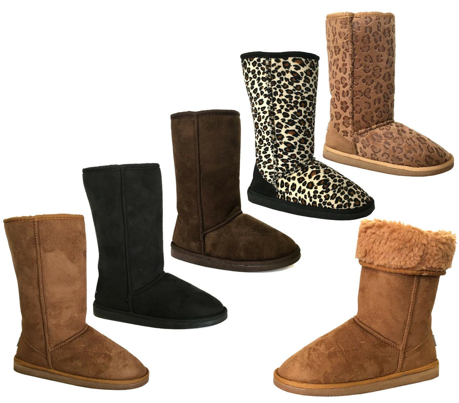 new women girls classic mid snow boots