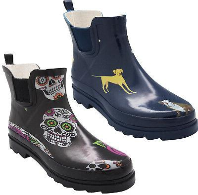 new women low ankle high rain boots