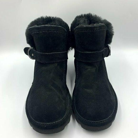 Bearpaw NEW Black Koko Suede Boots