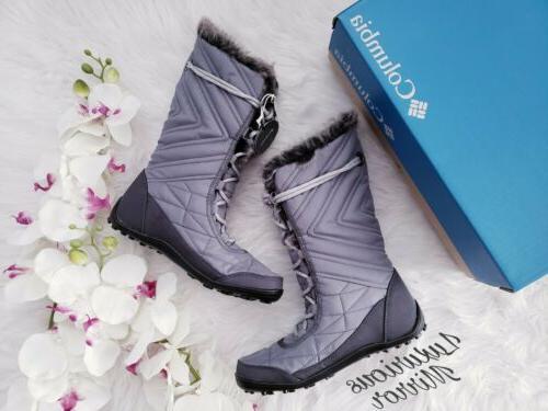 New Columbia Minx Mid III Boots Black / Size