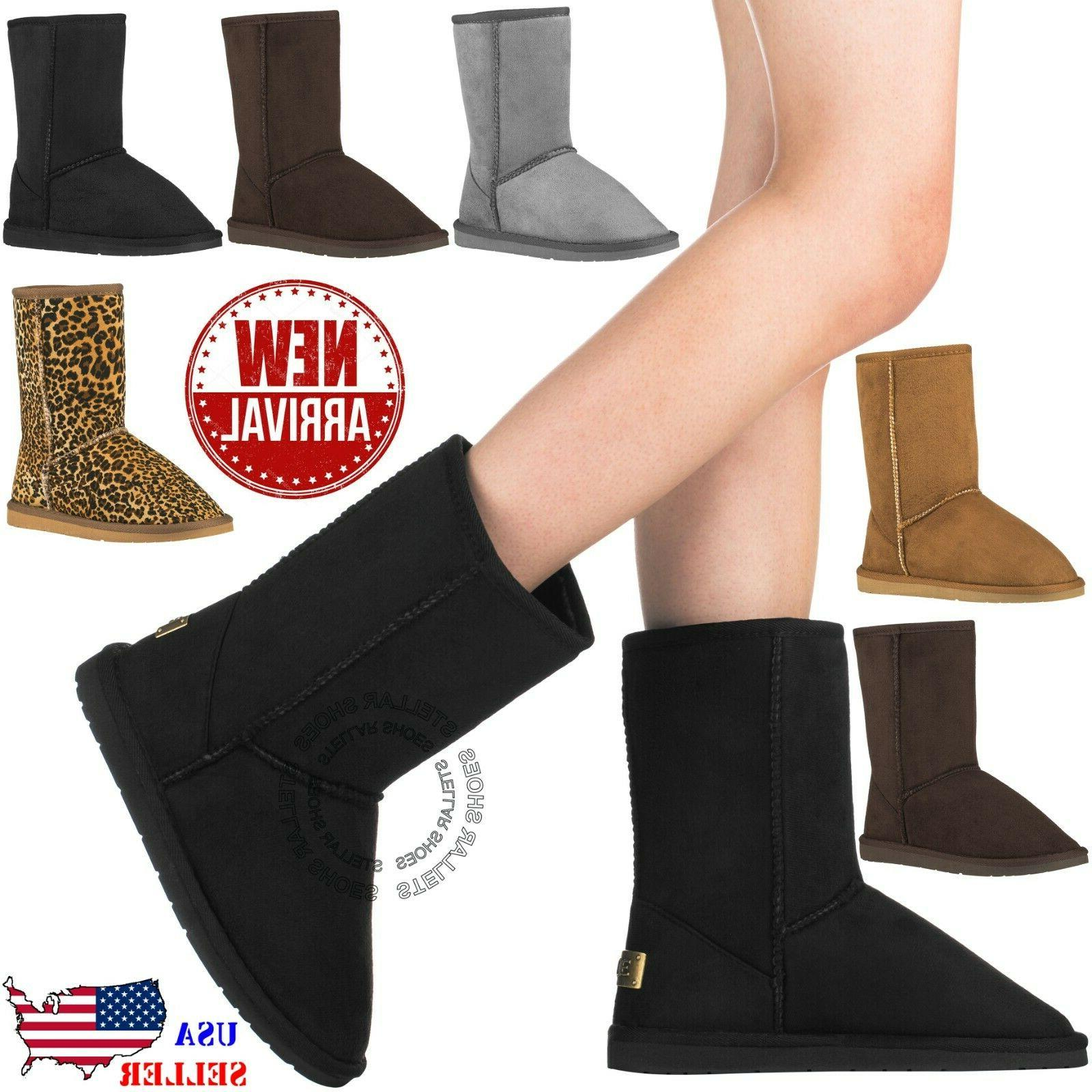 new womens winter snow boots vegan leather