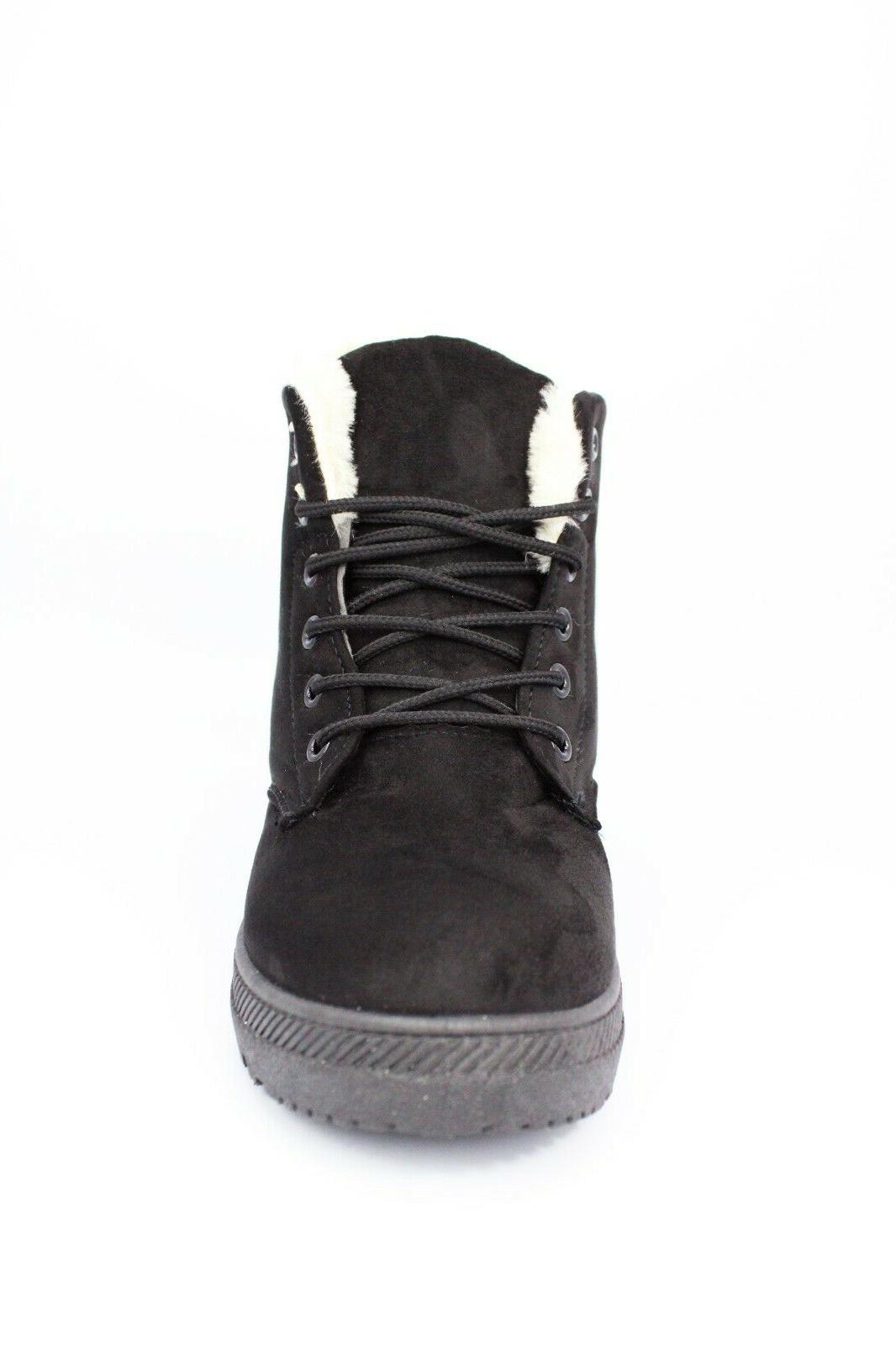 NOT100 Boots Warm Booties, Black, US